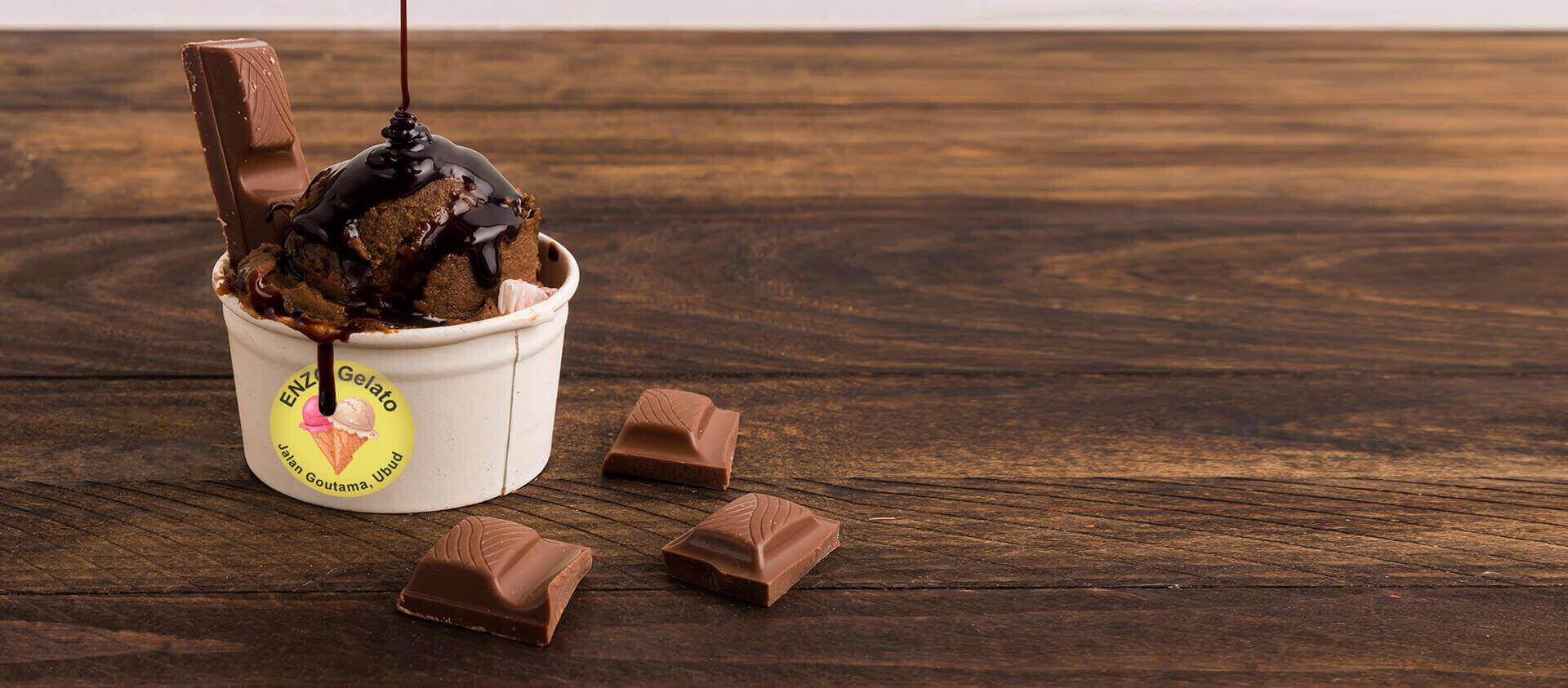 ENZO Gelato - Chocolate Gelato